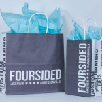 Foursided Recycled Shopping Bags