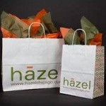 HAZEL VERSA CUSTOM SHOPPING BAGS