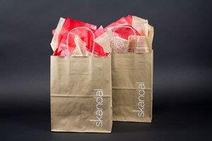 SKANDLE KRAFT POST PRINT CUSTOM SHOPPING BAGS