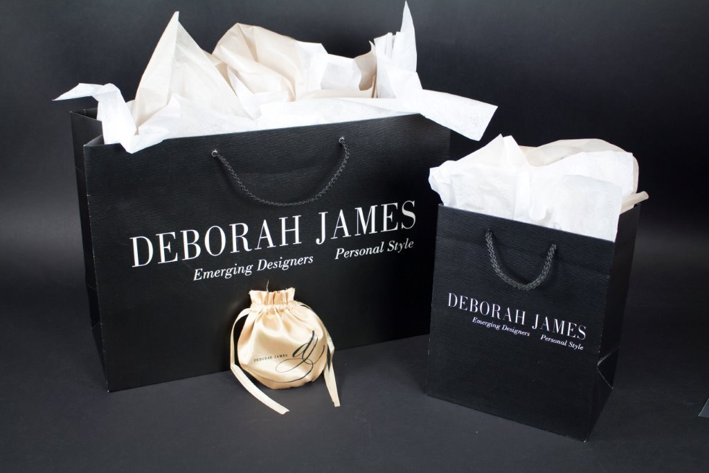 Custom Printed Eurototes for Deborah James