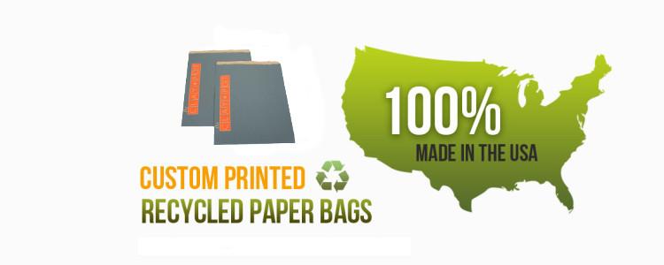 Custom Printed Recycled Paper Bags