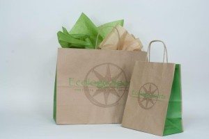 custom printed recycled shopping bags ecology sports