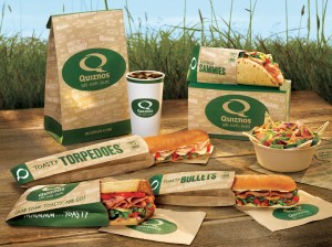 Quiznos Containers